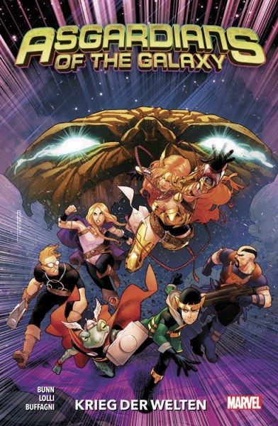 Asgardians Of The Galaxy 2 Cover