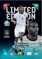 UEFA EURO 2020™ Adrenalyn XL™ 2021 Kick Off – LE Card – Jonathan Tah (Deutschland)