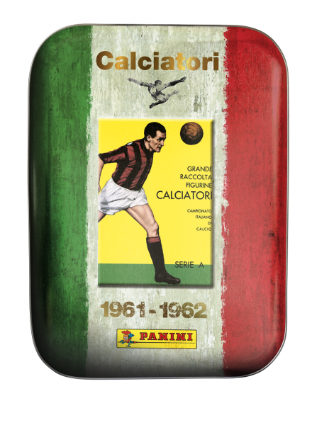 Panini Calciatori Serie A 2021 Stickerkollektion - Tin-Box - Design 1