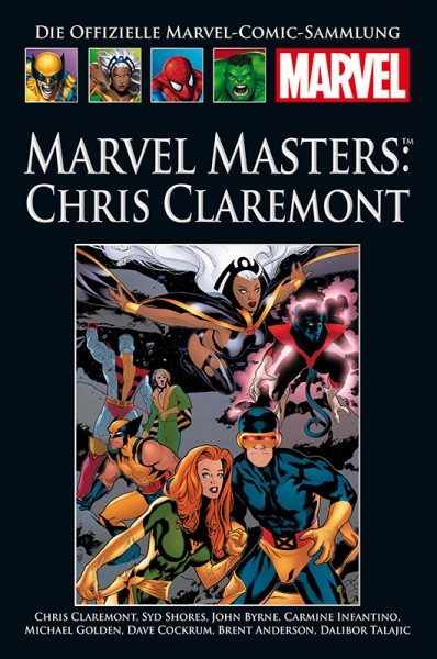 Hachette Marvel Collection 202 Marvel Masters - Chris Claremont Cover