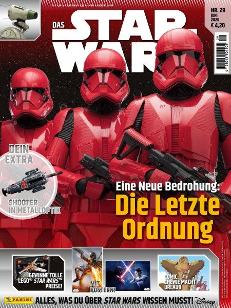 Star Wars Universum 29 Magazin Cover
