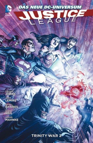 Justice League Paperback 6 (2013) - Trinity War 2 Hardcover