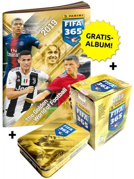Panini FIFA 365 2019 Stickerkollektion – Mega-Bundle