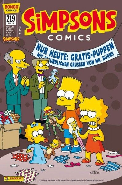 Simpsons Comics 219