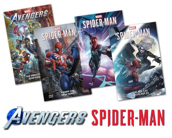 Marvel-Superhelden-Gamecomics-Bundle