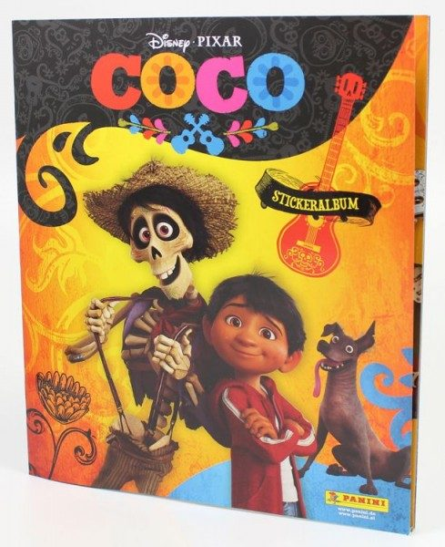 Disney - Coco Stickerkollektion - Album