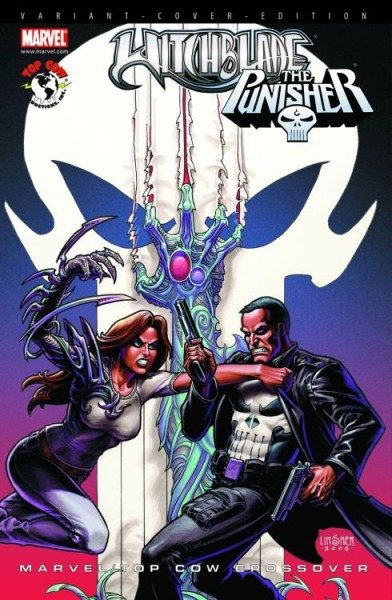 Marvel/Top Cow Crossover 1 Variant - Comic Action 2009