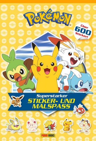 Pokémon - Superstarker Sticker- und Malspaß Cover