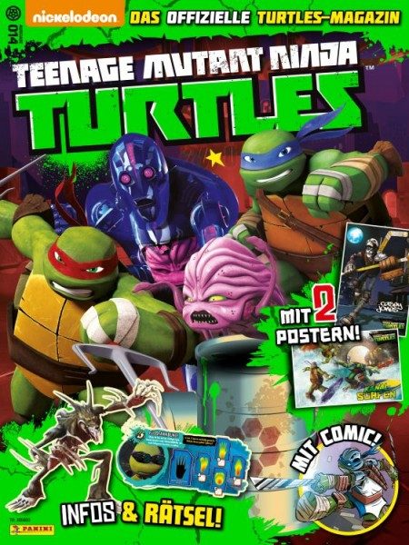 Teenage Mutant Ninja Turtles - Magazin 14