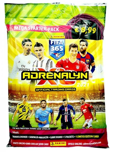 Panini FIFA 365 Adrenalyn XL 2021 Kollektion – Starterset