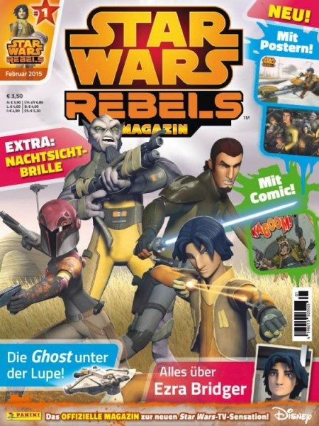 Star Wars - Rebels - Magazin 1
