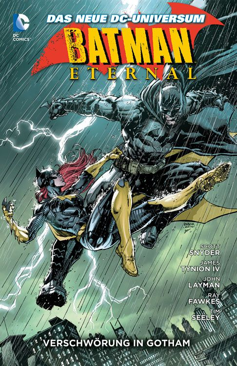 Batman Eternal 1 Paperback Hardcover
