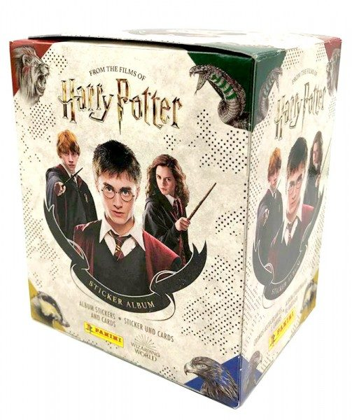 Harry Potter- Sticker und Cards - Box mit 36 Tüten