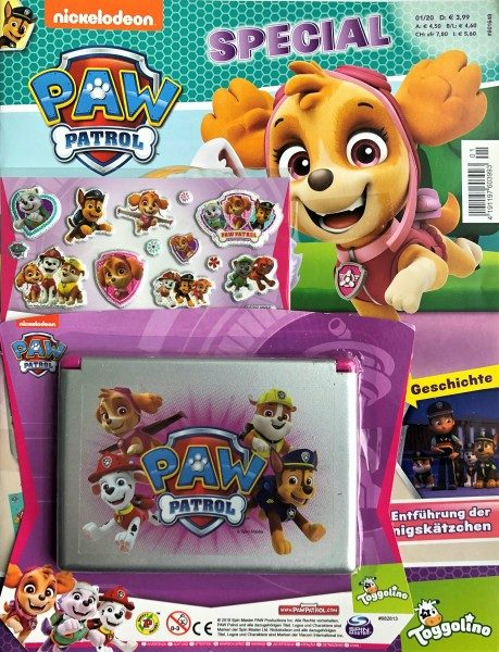 Paw Patrol Special Magazin 01/20 Cover mit Extra
