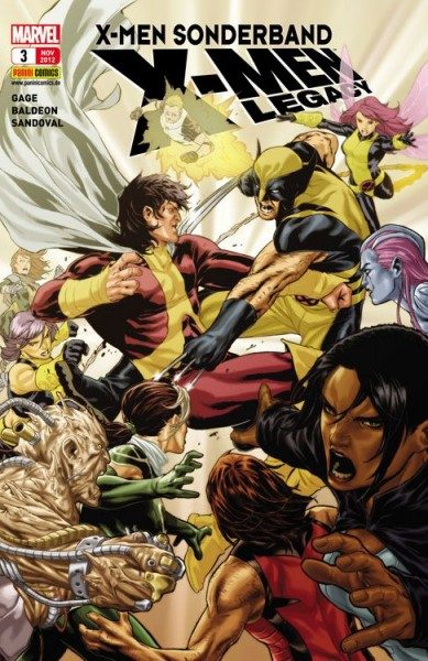 X-Men Sonderband - X-Men Legacy 3