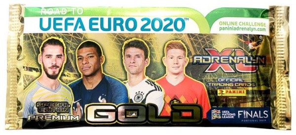 Road To UEFA Euro 2020 Adrenalyn XL - Premium Gold Tüte