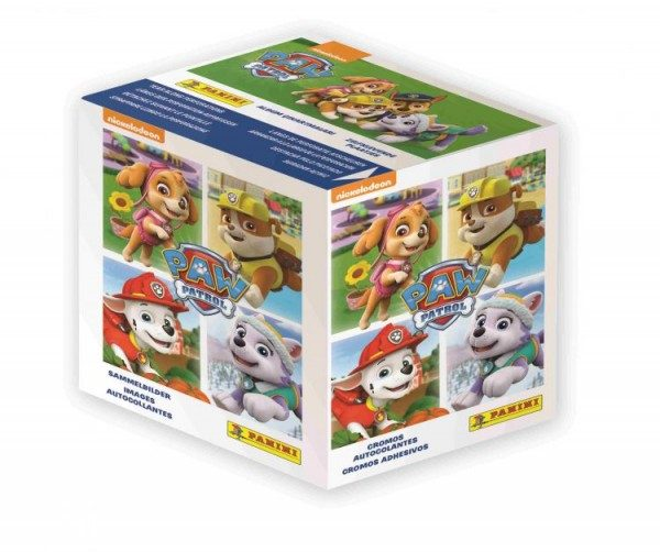 Paw Patrol Stickerkollektion - Box mit 50 Tüten