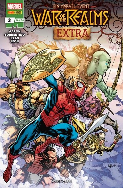 War of the Realms Extra 3 - Spider-Man Cover