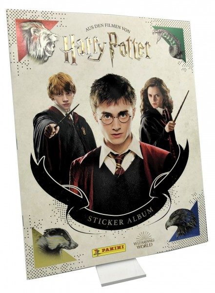 Harry Potter- Sticker und Cards - Album Cover