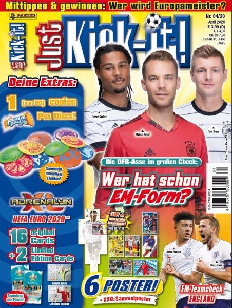 Just Kick-It Magazin 04/20 - Cover