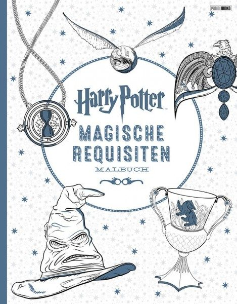 Harry Potter: Magische Requisiten - Malbuch Cover