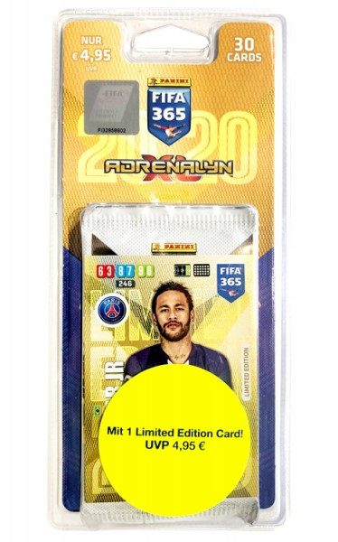 Panini FIFA 365 Adrenalyn XL 2020 Kollektion – Blister