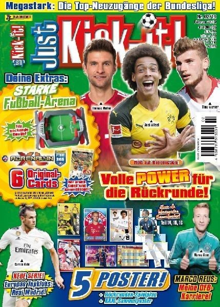 Just Kick-It! Magazin 02/19