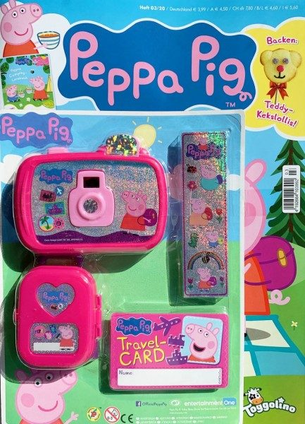 Peppa Pig Magazin 03/20 Cover mit Extra