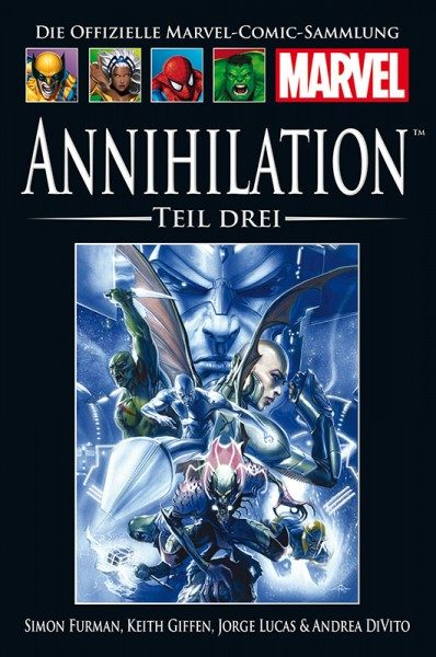 Hachette Marvel Collection 211 - Annihilation Teil III Cover