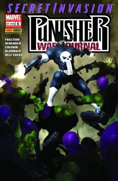 Punisher War Journal 6