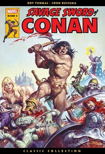 Savage Sword of Conan - Classic Collection 2 Cover