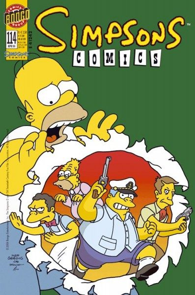 Simpsons Comics 114