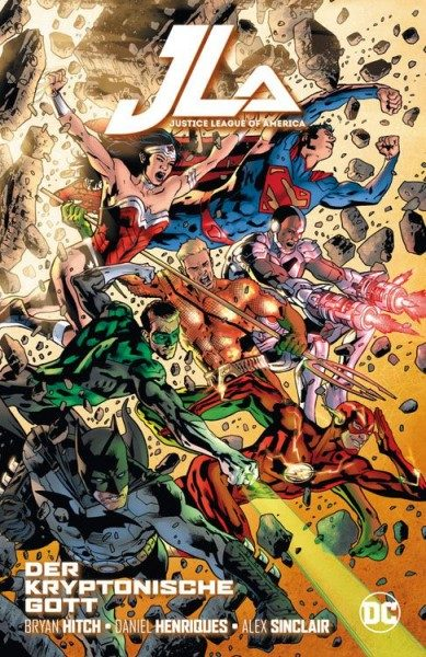 Justice League of America - Der kryptonische Gott Hardcover