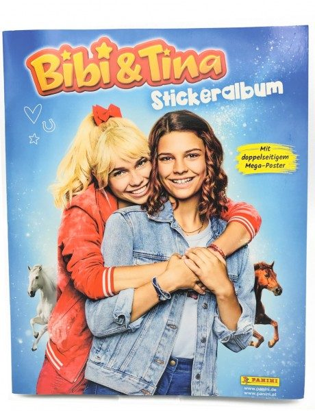 Bibi & Tina - Sticker - Album Cover