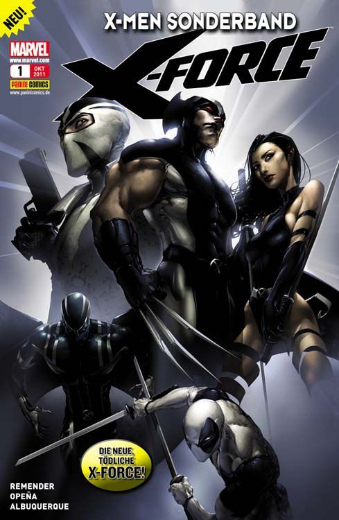 X-Men Sonderband - Die neue X-Force 1