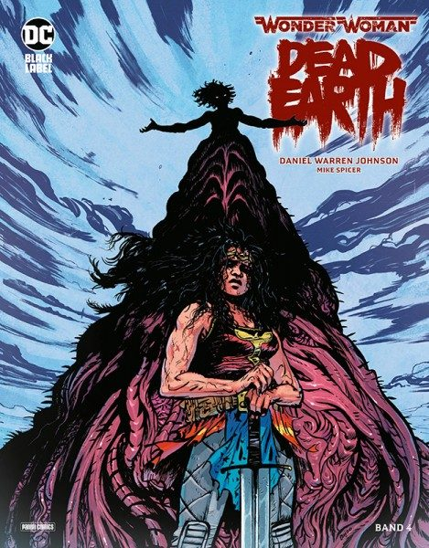 Wonder Woman - Dead Earth 4 Cover