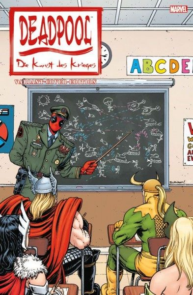 Deadpool - Die Kunst des Krieges Comic Action 2015 Variant