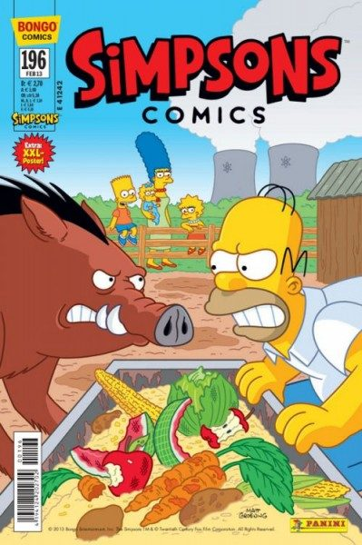 Simpsons Comics 196
