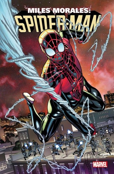 Miles Morales - Spider-Man 4 Cover