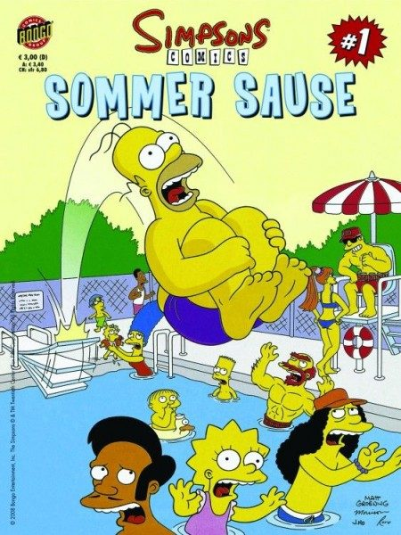 Simpsons Sommer Sause 1