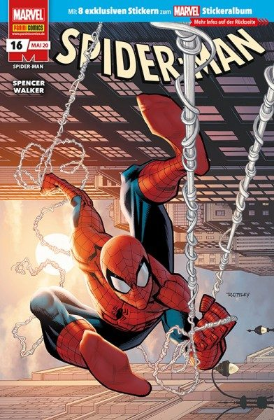 Spider-Man 16 Cover