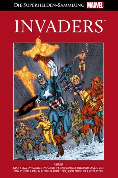 Die Marvel Superhelden Sammlung 62 - Invaders