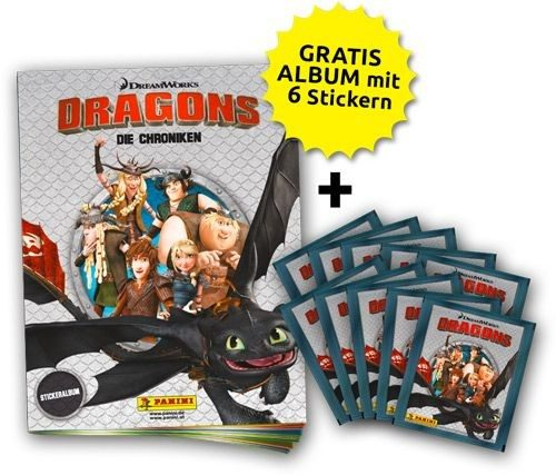 Dragons - Stickerkollektion - Schnupperbundle
