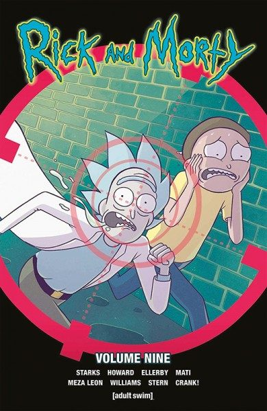 Rick and Morty 9 Cover