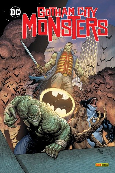 Gotham City Monsters Hardcover