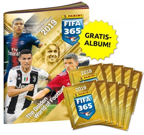 Panini FIFA 365 2019 Stickerkollektion – Mini-Bundle 2