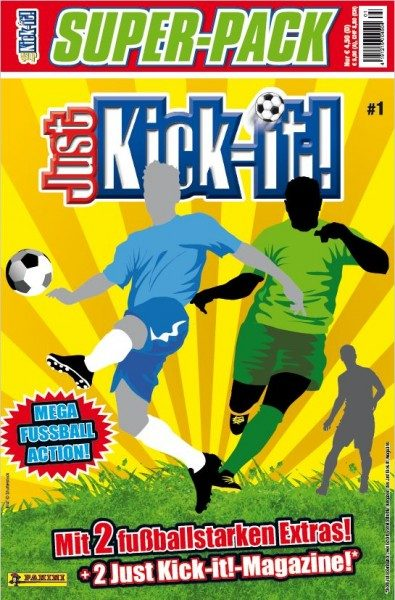 Just Kick-It! Super-Pack 1