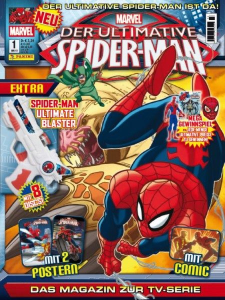 Der ultimative Spider-Man - Magazin 1