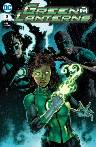 Green Lanterns 8 - Versklavte Helden