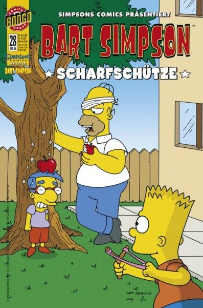 Bart Simpson Comics 28